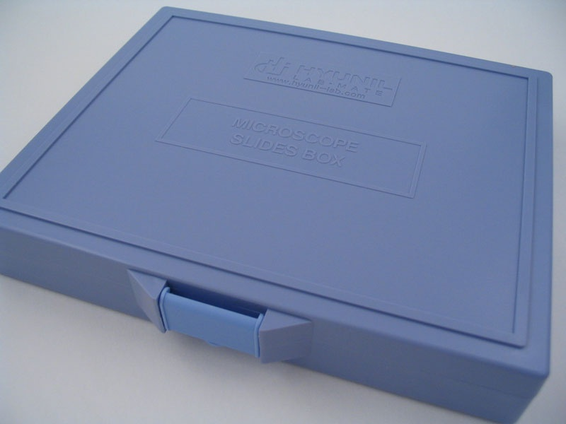 Slide Box 100 Place Plastic Hinged 1021 Trajan