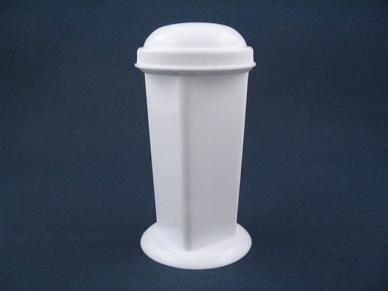 Coplin Jar White Plastic With Screw Cap Ps1021