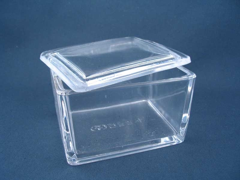 Staining Dish 20 Place Glass Lid 1027 1027 Trajan