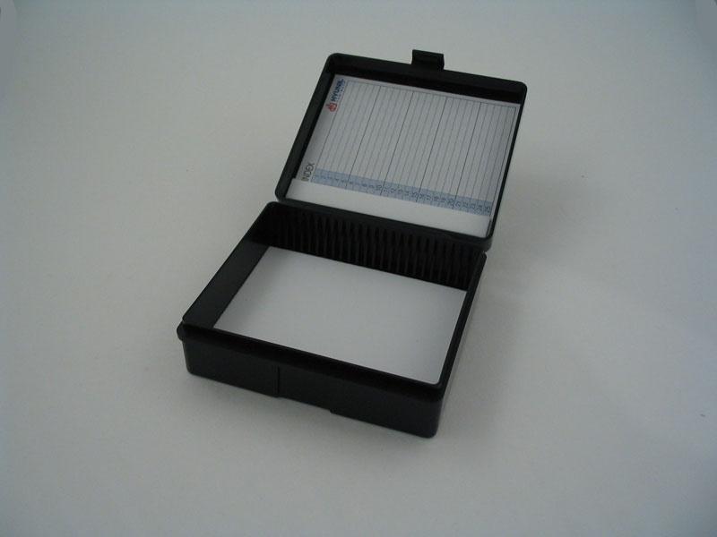 Slide Box 25 Place Plastic Hinged 1020 Trajan