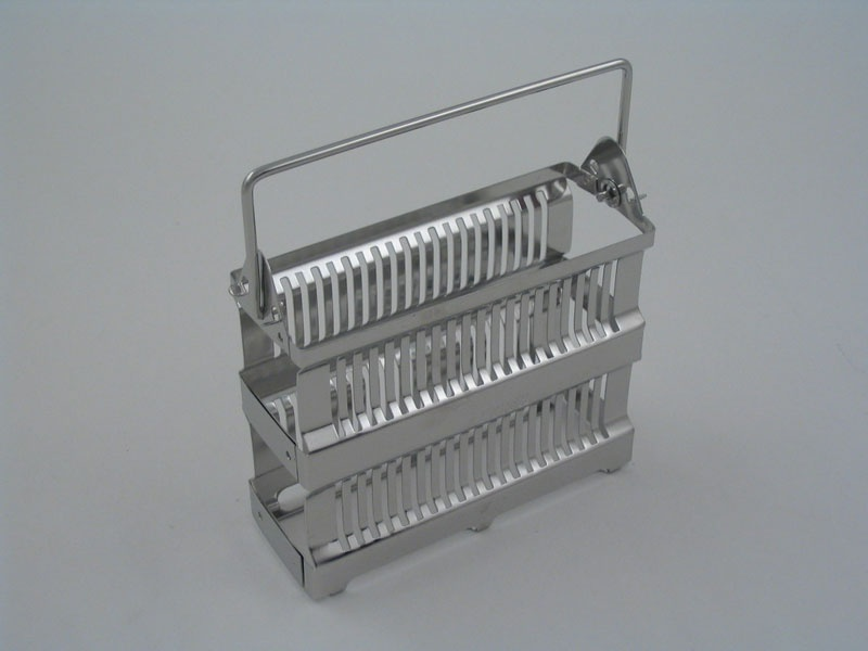 20 Place  Metal Staining Rack  Slides Vertical