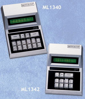 The Diffcount ML1340 and ML1342 electronic cell counters